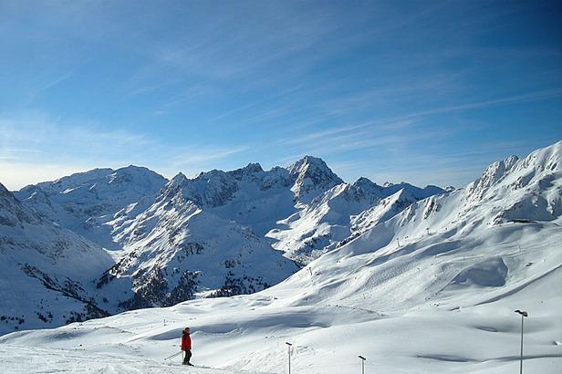 Skigebiet Kühtai: Traumhafte Skitage im hochalpinen Gelände- ©Markus Hahn