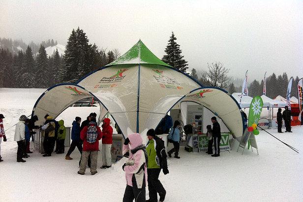 Schneeschuhtour 2012 Oberjoch