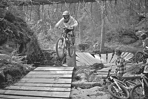 Traumjobs Graubünden: Endspurt für eine Woche Biken in Flims- ©Graubünden Ferien