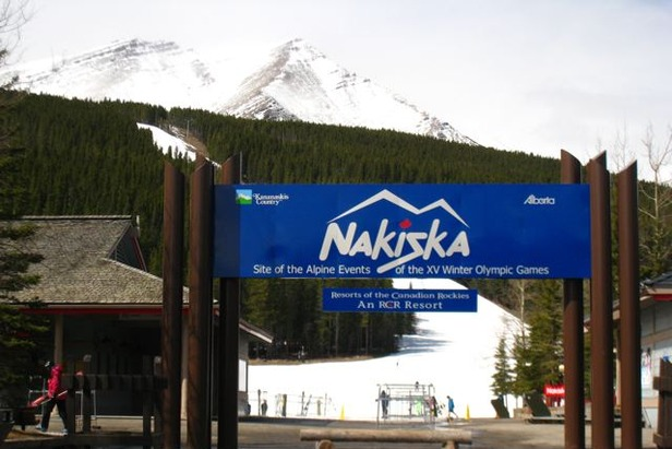 Entrace to Nakiska, Alberta