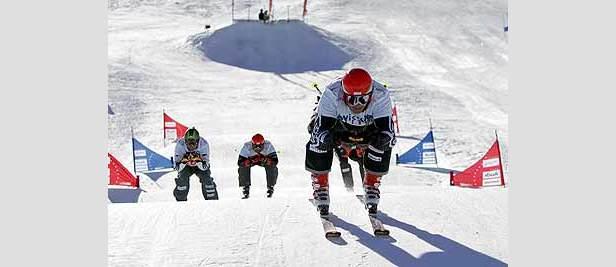 Holmlund und Schmid siegen beim Ski Cross Auftakt- ©Swiss-Ski
