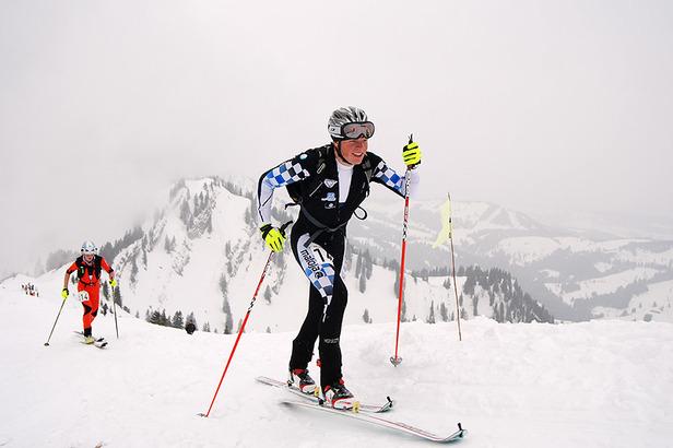 WM Skibergsteigen 2011: Deutsches Team scharrt mit den Hufen- ©Matthias Keller