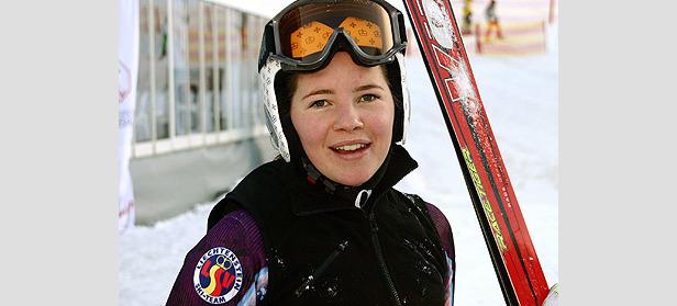 Tina Weirather Junioren-Weltmeisterin in der Abfahrt ©G. Löffelholz / XnX GmbH