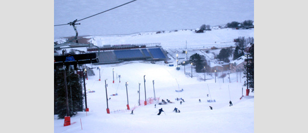 Der WM-Countdown läuft - beste Schneebedingungen in Are- ©Henrik Nyström/Are 2007