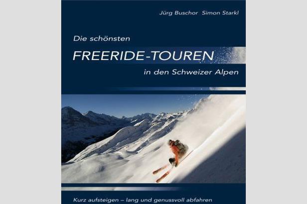 Die schönsten Freeride-Touren der Schweizer Alpen - ©At-Verlag
