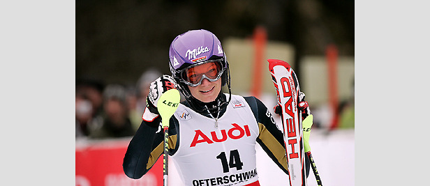 Video-Interview mit  Maria Riesch ©Head