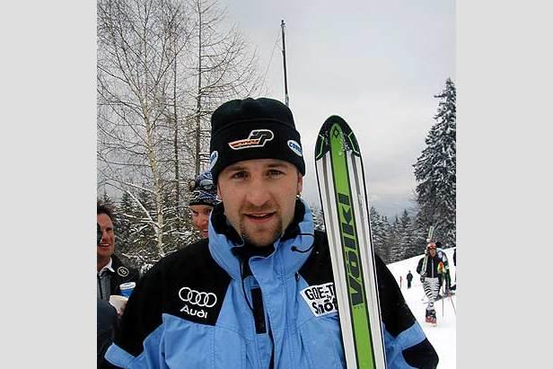 Kalle Palander (FIN) erreicht seinen ersten Weltcup-Sieg ©Klaus Vierlinger