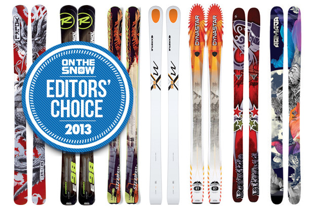 2013 Editors' Choice: The Best Men's All Mountain Skis