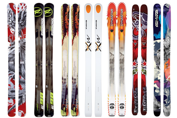 2012-2013 OnTheSnow Editors' Choice Skis