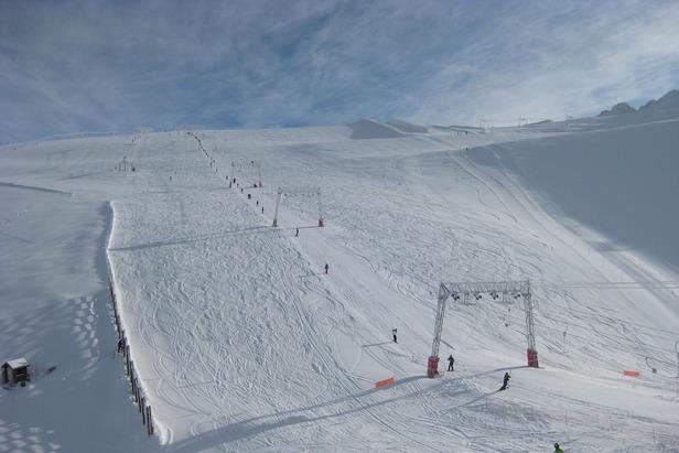 Point neige du 1er novembre 2012 ©Les Deux Alpes Tourism