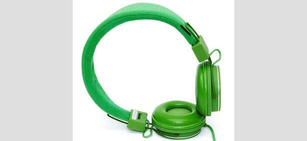 Urbanears Plattan Headphones - green - ©Urbanears.com