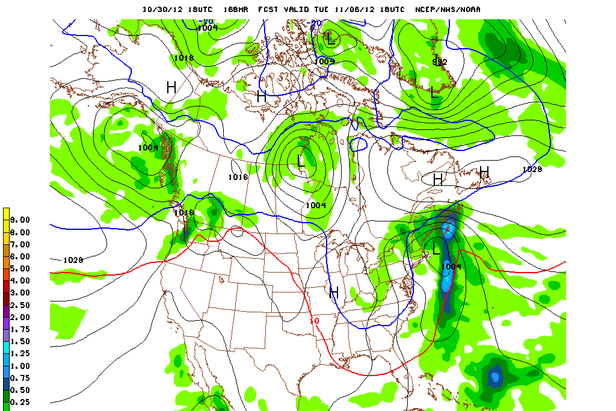 Where's the Snow this Weekend: East Coast Report 11/1/12