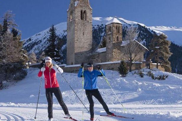 Ski de fond à Saint Moritz