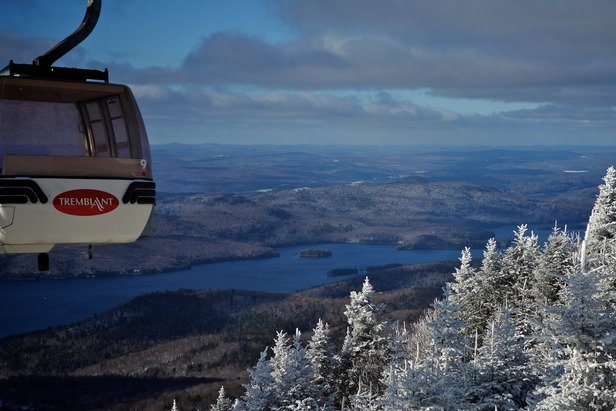Enjoy breathtaking views on the Gondola ride to the summit. Photo Courtesy of Mont Tremblant, flickr.