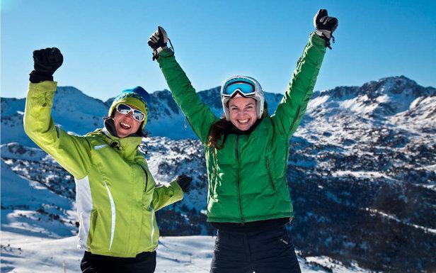 Les plaisirs du ski en Andorre à GRANDVALIRA et VALLNORD