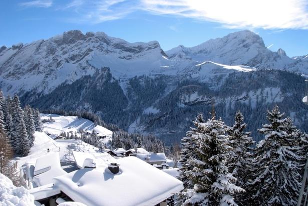 Villars : Ouverture partielle du domaine skiable  © Villars Tourism, Switzerland