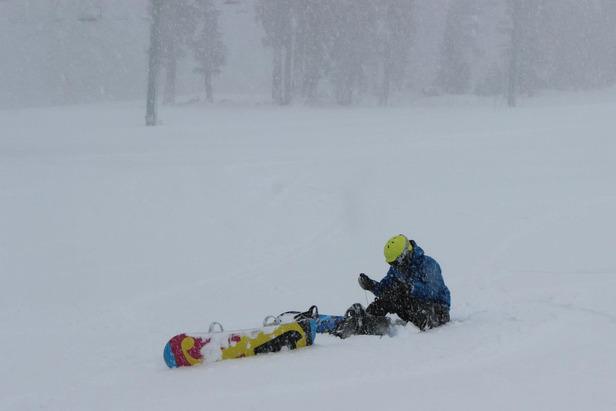 Where's the Snow this Weekend: West Coast Report 11/29/12- ©Kirkwood Resort / Facebook