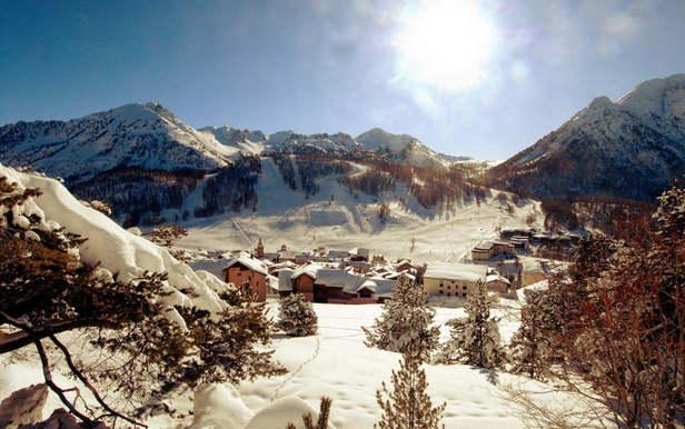 Neige et soleil au rendez-vous à Montgenèvre...