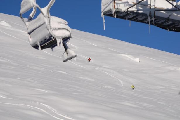 Big snowfalls in Artesina-Mondolè, Italy ahead of Friday's opening ©Andrea Belmonte - Artesina SpA