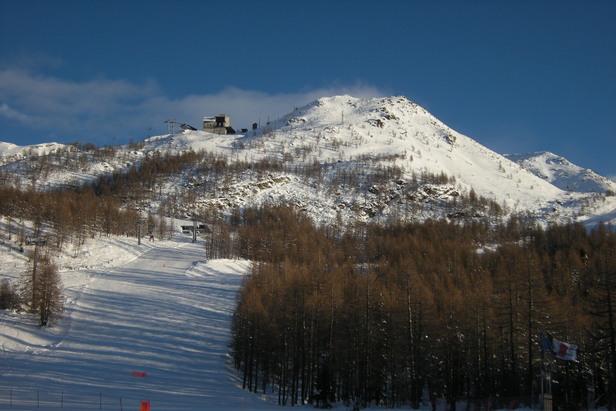 Madesimo, Skiarea Valchiavenna - neve fresca 5 dicembre 2012