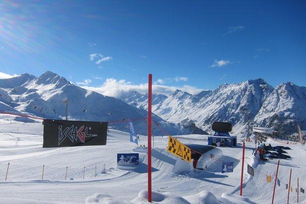 Snow park w Ischgl  - © Monica Adorno