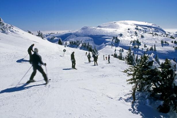 Ski sur le domaine de Monts Jura