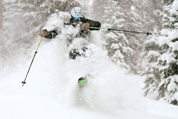 Wolf Creek was DEEP on Dec. 15, 2012. Just ask Eric Rasmussen.