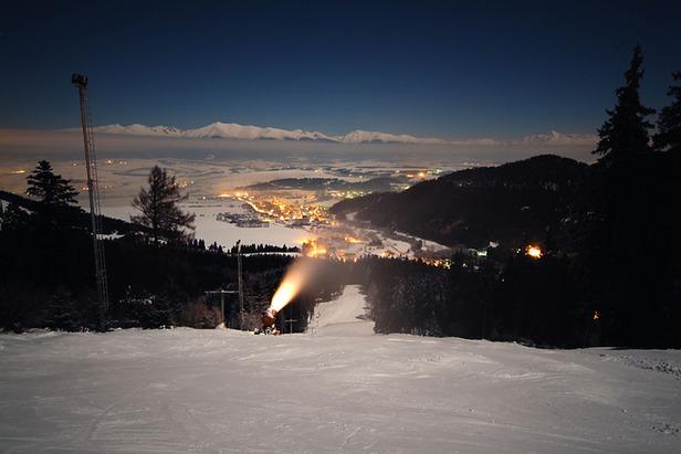 Rekordy slovenských stredísk: večerné lyžovanie- ©Ski centrum Jánska dolina - Javorovica