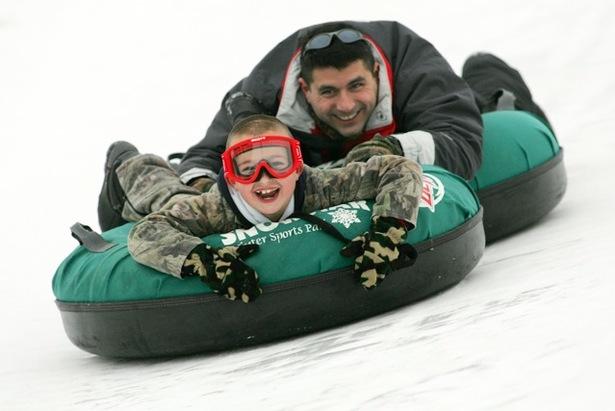 Tubing at Ski Snowstar.