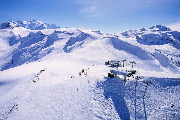 Le Grand Massif: 260 km aan piste in de Haute Savoie