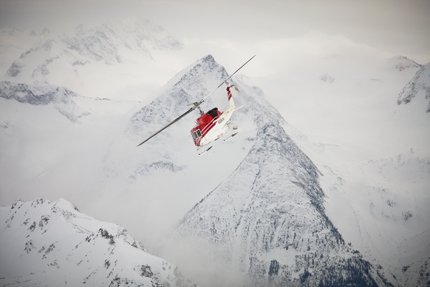 OTS Heli/Cat Guide: Tyax Lodge Heli-Skiing- ©Randy Lincks/Andrew Doran