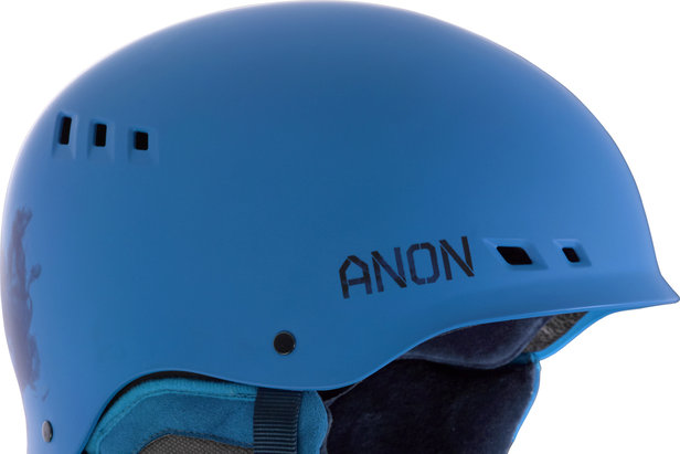 The Talon helmet from Anon features a Boa® 360 Fit System, Endura-Shell ABS Construction and is SkullCandy™ ASFX Audio Compatible.
