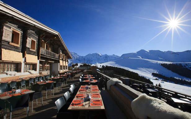 Un verre en terrasse face au Mont-Blanc ?