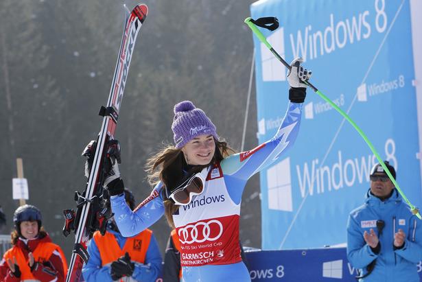 Tina Maze, Garmisch 2013