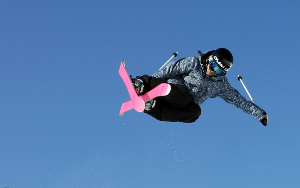 2nd titre de championne du monde de ski freestyle pour Virginie Faivre