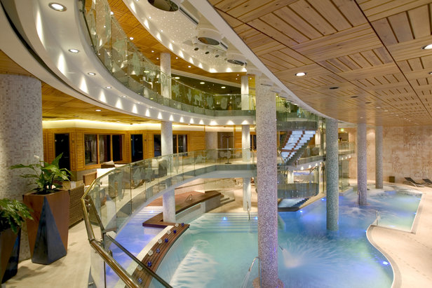Five-star Hotel Hermitage spa in Soldeu, Andorra  - © Sport Hotels Resort And Spa