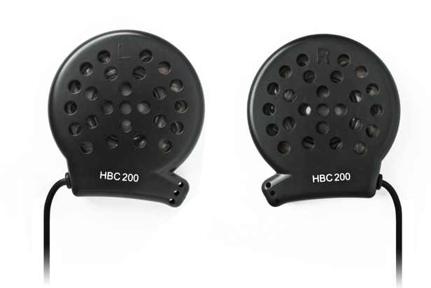 UClear HBC220 Force Speakers are crisp and clear for listening to music on the hill.