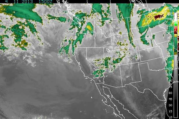 Where's the Snow this Weekend: Winter Rolls on in the West- ©NOAA