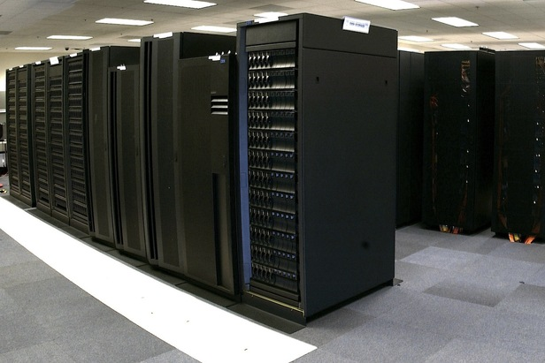 A supercomputer that helps meteorologists to predict the weather.  - © OpenSnow.com