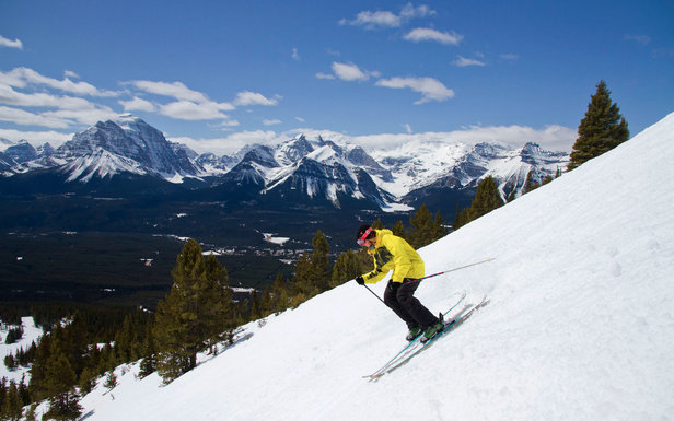 Spring skiing at Lake Louise  - © Ski Big 3