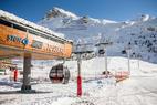 Ce week-end, ouverture de la liaison espace killy Tignes - Val d'Isère - © Stef Cande