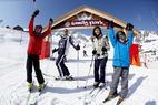 Apprendre à skier en s'amusant : les meilleures zones ludiques - © David André