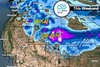 Snow Before You Go: Shifting Storm Track to Deliver Weekend Powder - © Meteorologist Chris Tomer