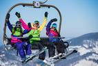 Lyžování ve 3 propojených údolích na 14 kilometrech: Snowparadise Veľká Rača v plné kráse! - © Snowparadise Veľká Rača