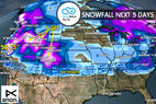 1.5 Snow Before You Go: Atmospheric River Flows 6 Feet Deep - © Meteorologist Chris Tomer
