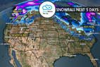 3.16 Snow Before You Go: Look North for Fresh Powder - © Meteorologist Chris Tomer