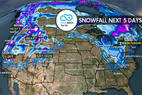 4.6 Snow Before You Go: Large, Powerful Storm - © Meteorologist Chris Tomer