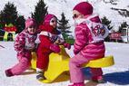 Pack easy baby : Vacances au ski avec bébé - ©OT les Menuires
