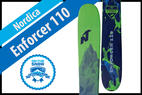 Nordica Enforcer 110: Men's 17/18 Big Mountain Editors' Choice Ski - © Nordica