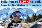 Predpredaj skipasov v Bachledke začal: Lyžujte po celú zimu za 139 EUR! - © Ski Bachledka Facebook